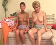 Mother and daughter make an incest video