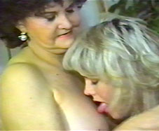 old woman and girl have sex