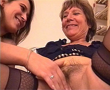 daughter rubbing her mother's pussy