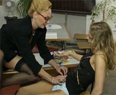 teacher undresses student in class